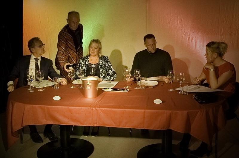 """aan tafel bij """"Het Diner"""""""